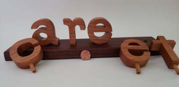 11August_Create_Walnut Letters Out